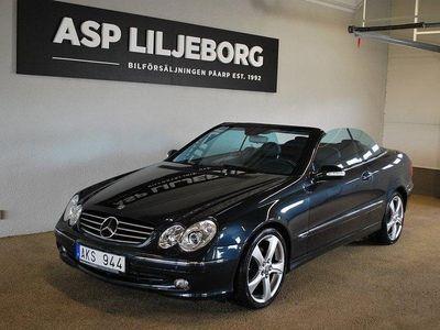 begagnad Mercedes CLK320 Cabriolet 8400 mil Avan