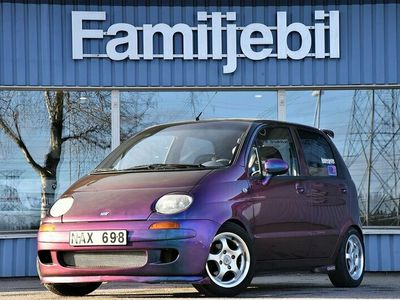 begagnad Chevrolet Matiz 0.8 (75hk) NOS/Lusgas/Cobra stolar/Snap on ratt