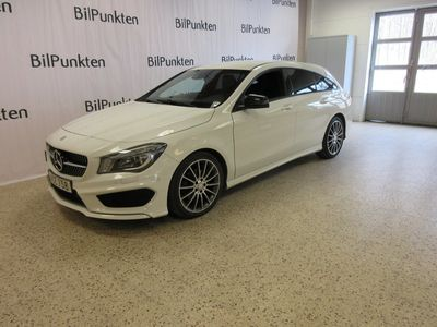 begagnad Mercedes CLA200 Shooting Brake D AMG AUT Night Package