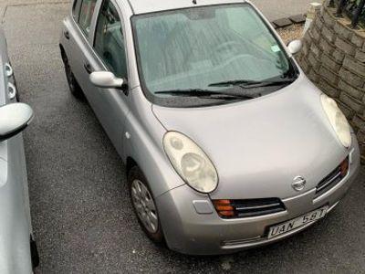 used Nissan Micra skattad besiktat -03