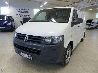 begagnad VW T5 Skåp TDI 4M 6-växlad AC Park.värmare Lång 340 Dragkrok 2010, Transportbil 119 500 kr