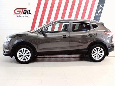 begagnad Nissan Qashqai 1.5 dCi N-TEC Navi Eu6 2016, SUV 119 900 kr