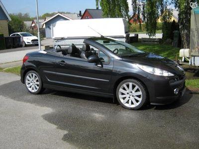 begagnad Peugeot 207 CC 1,6 150 hkr. Endast 6.600 mil -07