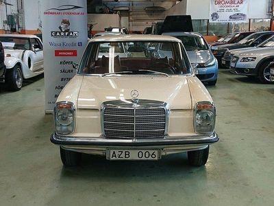begagnad Mercedes W114 220105hk Rostfri/Svenskså