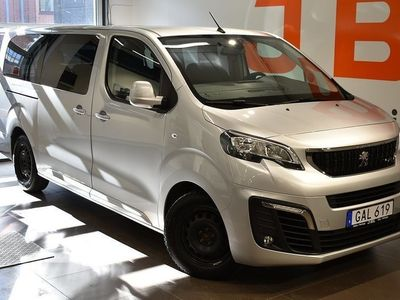 begagnad Peugeot Traveller Business 2,0 BlueHDi Aut - 9-SITS 2018, Transportbil 278 800 kr