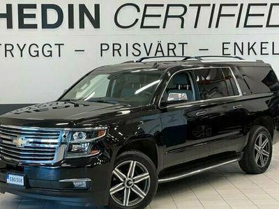 begagnad Chevrolet Suburban 5,3 V8 E85 4WD LTZ 7-Sits Vinterhj 2016, SUV Pris 499 900 kr