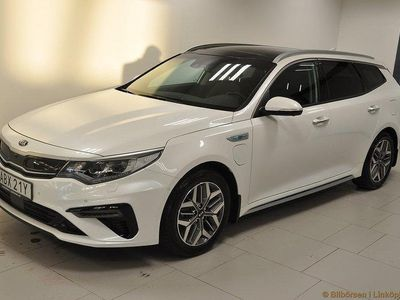 begagnad Kia Optima Hybrid Nya Sportswagon Plug-in Adv