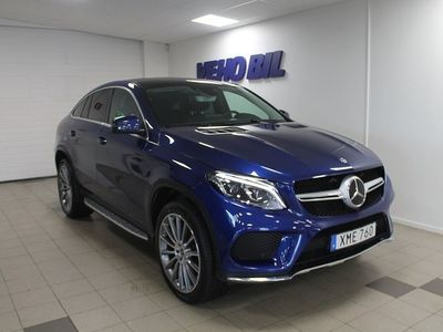 usata Mercedes GLE350 d 4-Matic Coupe AMG Värmare Drag