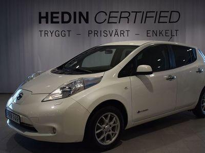 begagnad Nissan Leaf 24 kWh Single Speed Navi Backkamera 109hk