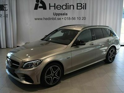 begagnad Mercedes C300 - Benzde KOMBI AMG NIGHT / / PREMIUMPAKET / / DRAG