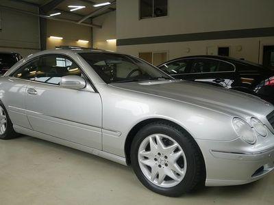 begagnad Mercedes 500 CL Benz5G-Tronic Sv-såld 2002, Sportkupé Pris 99 900 kr