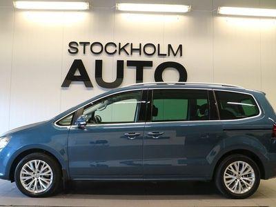 begagnad VW Sharan 2.0 TDI DSG Premium 6 sitts / Panorama / Drag