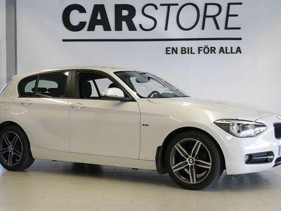 begagnad BMW 118 Sportline Defa 2013, Personbil 119 000 kr