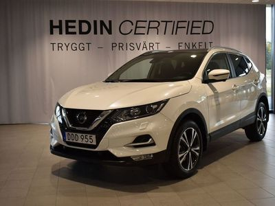 begagnad Nissan Qashqai DCI N-Connecta // Roof pack