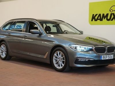 brugt BMW 520 d 190hk EU6 Connected Ed Business Aut (Nav, Hifi)