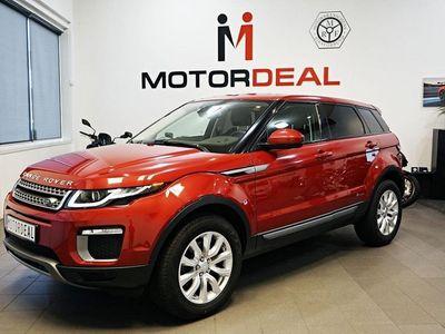 begagnad Land Rover Range Rover evoque 2.0TD4 4WD Aut