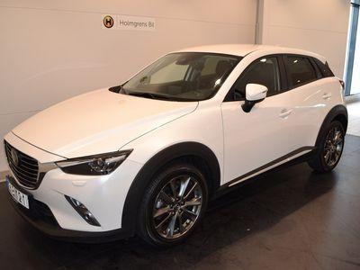 begagnad Mazda CX-3 2.0 AUT OPTIMUM BRUNT SKINN 2017, SUV 229 900 kr