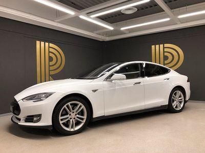"begagnad Tesla Model S 85 Panorama AP1 21"" Slipstream 2015, Sedan 499 000 kr"