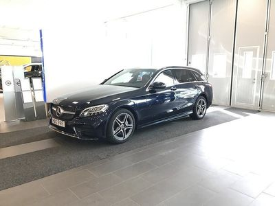 used Mercedes C200 d AMG -19