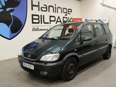 begagnad Opel Zafira 1.8 / 7-sits / 115hk / kamremsbytt
