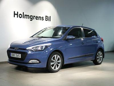 begagnad Hyundai i20 1.2 84hk Go! Plus Navi Kamera