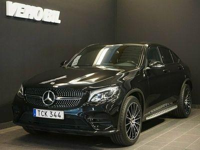 begagnad Mercedes 220 GLCCoupé 4MATIC AMG Värmare Drag Taklucka Backkamera Apple