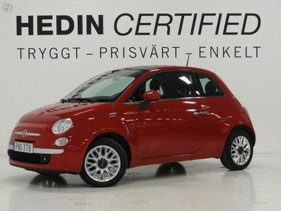 brugt Fiat 500 1.2 Lounge Panorama Bluetooth Nyserv -15