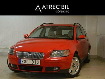 begagnad Volvo V50 2.4 Momentum 140HK,Drag,SoV