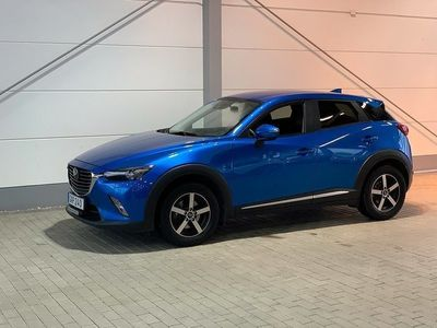 begagnad Mazda CX-3 AWD Automat 1,5 DE Optimum 105 Hk