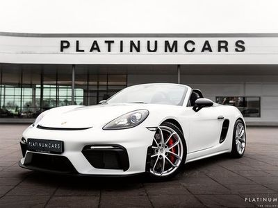 begagnad Porsche 718 Boxster Spyder LEASEBAR Sv.såld 2020, Personbil 1 139 000 kr
