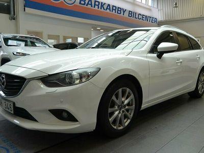 begagnad Mazda 6 Wagon 2.2 SKYACTIV-D Aut 150hk / Nav / Krok