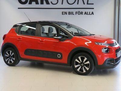 begagnad Citroën C3 Puretech Shine Glastak