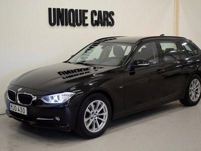 begagnad BMW 320 d Touring 184hk Aut Sport line Drag