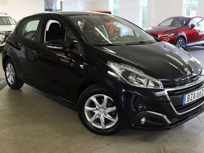 begagnad Peugeot 208 Active 1,2 PureTech 82hk ETG5 Aut