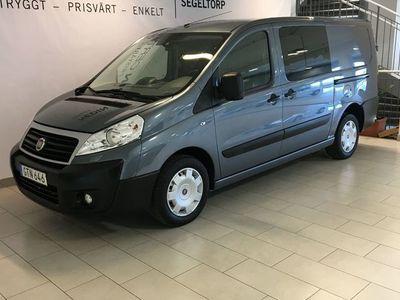begagnad Fiat Scudo 2.0 MJT 130hk S+V-Hjul
