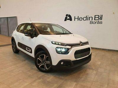 begagnad Citroën C3 Feel PT 82 Apple Carplay 2021, Kombi Pris 138 355 kr