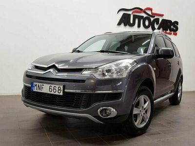 begagnad Citroën C-Crosser 2.2 HDi 4WD 7 sits | Dragkrok|Motorvärmare