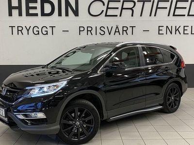 begagnad Honda CR-V Executive Black Edition V-hjul