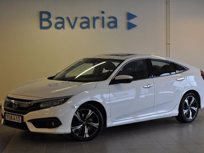 begagnad Honda Civic Sedan 1.5 i-VTEC Turbo CVT Euro 6 182hk