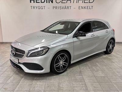 begagnad Mercedes A180 // AMG Paket // Nightpackage // 1 Ägare