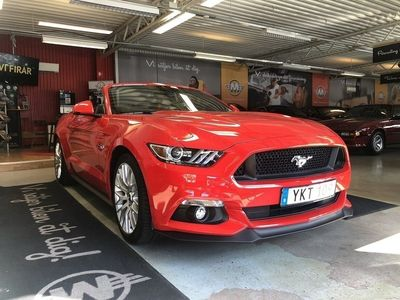 begagnad Ford Mustang GT Convertible 5.0 V8 | 421hk | -17