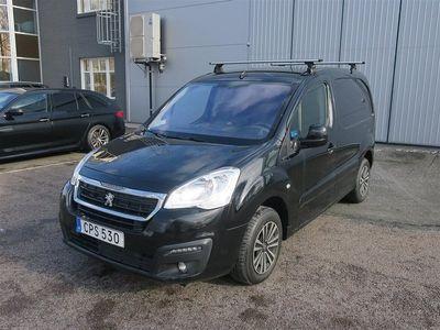 begagnad Peugeot Partner L1 100hk Drag CarPlay Takräcke
