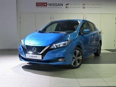 begagnad Nissan Leaf halvkombi, N-Connecta 62kwh **Service och vinterdäck på 16'' lätt el automat, Valfri färg.,