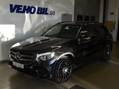 begagnad Mercedes 220 GLC Benzd 4Matic Style Edition Vinterpaket Premiumpaket Suv paket Bu 2019, SUV 449 000 kr