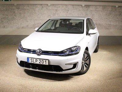 begagnad VW e-Golf 35.8 kWh 136Hk GPS/LED 2019