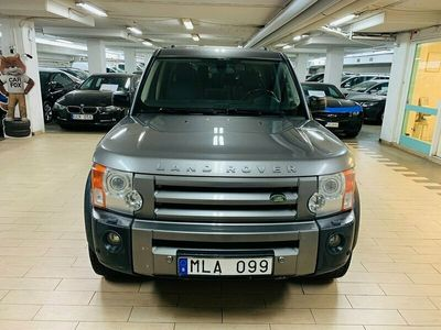 begagnad Land Rover Discovery 2.7 TDV6 4WD Automat 7-sits 190hk