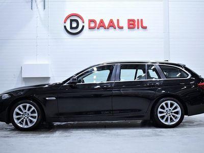 begagnad BMW 520 190hk xdrive p-värm skinn p-sen fulls