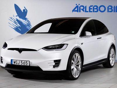 begagnad Tesla Model X P90D -16