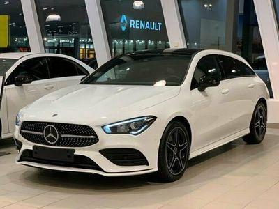begagnad Mercedes 200 CLA BenzSHOOTING BRAKE AMG LINE PANORAMA D 2021, Sportkupé Pris 385 800 kr