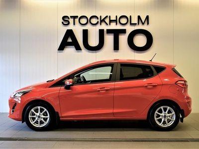 begagnad Ford Fiesta 5-dörrar 1.0 AUT V-Däck Euro 6